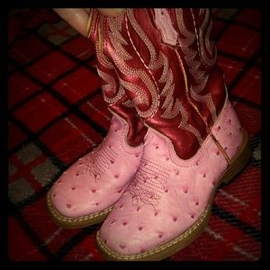 Roper Girls Boots Size 9